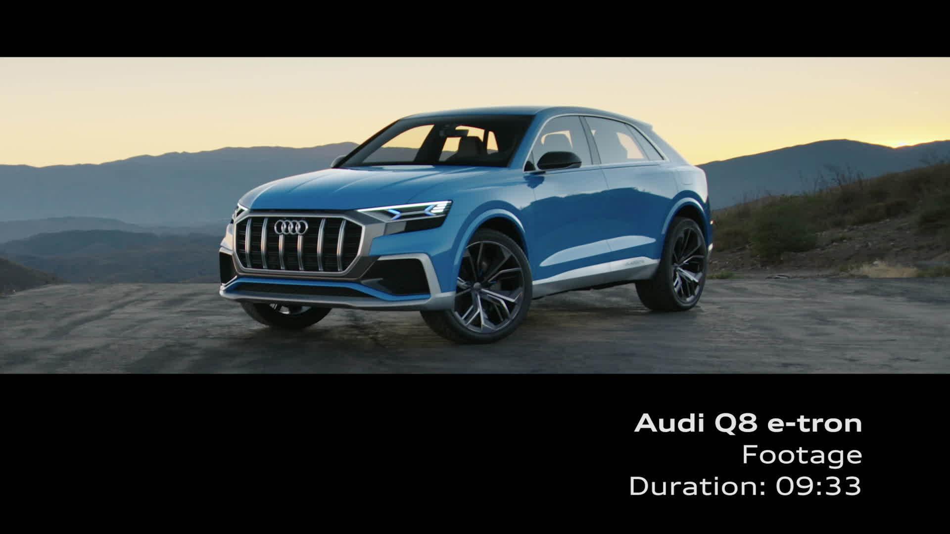 Audi Q8 concept - Footage