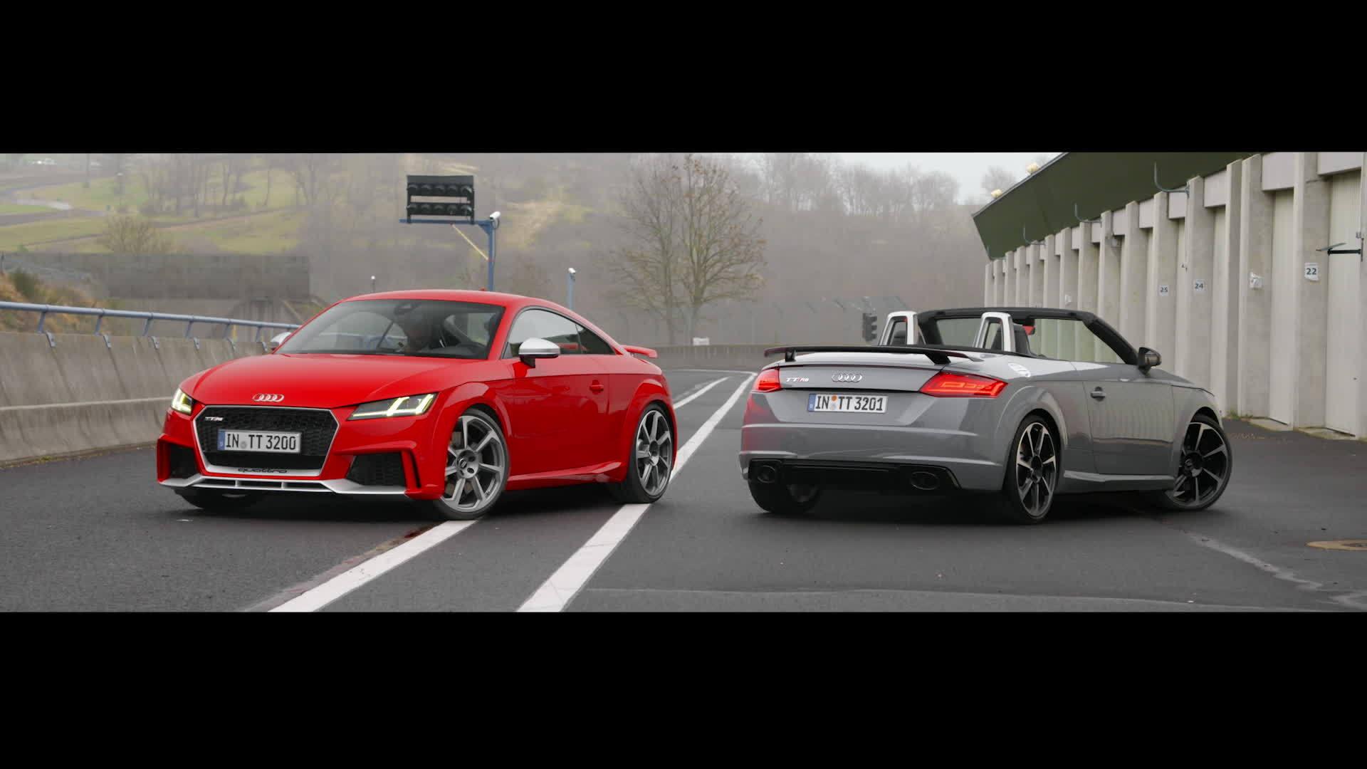 TT RS Coupé und TT RS Roadster - Fahrspaß auf höchstem Niveau