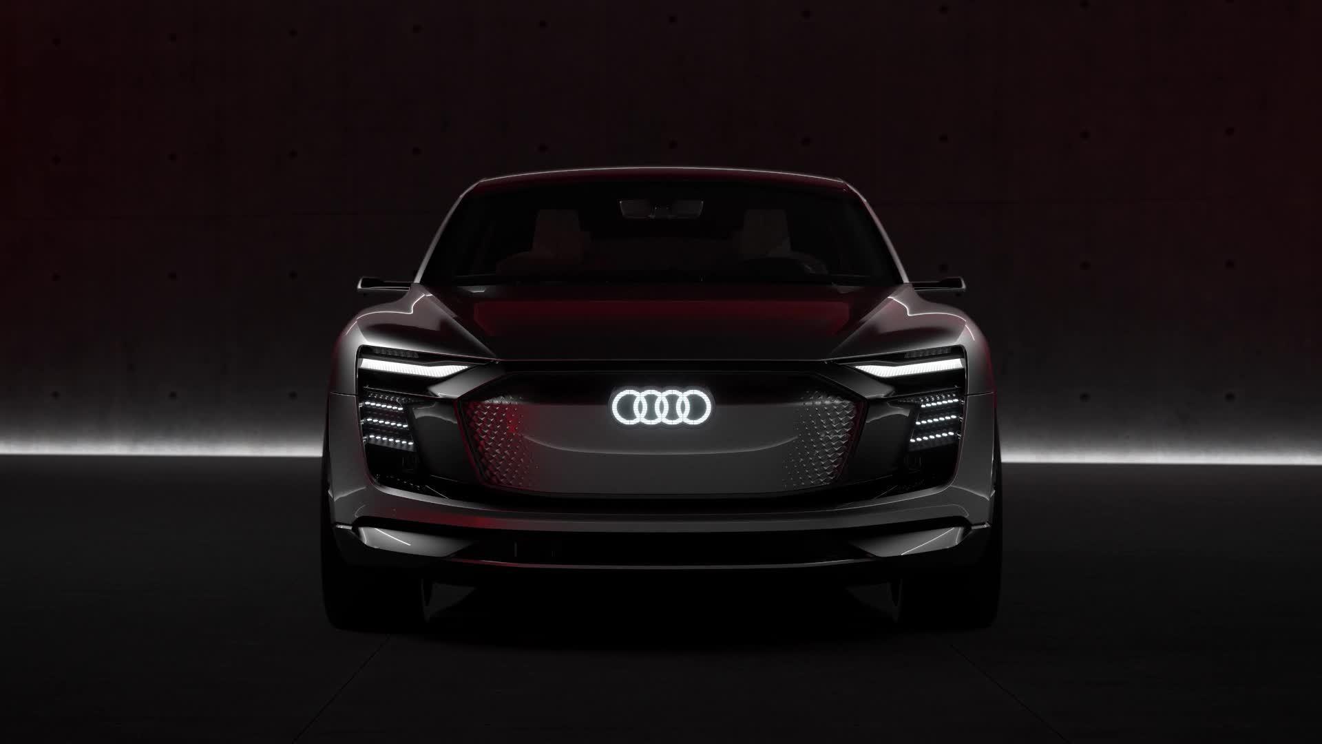 Audi e-tron Sportback concept Animation