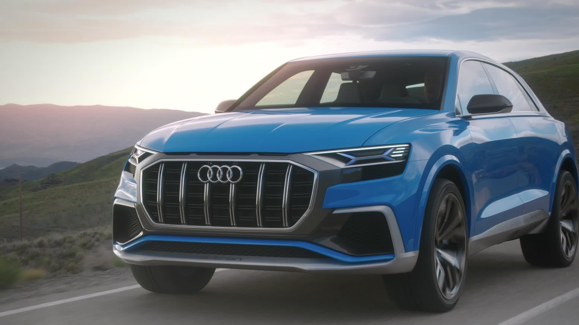 The Audi A8 concept