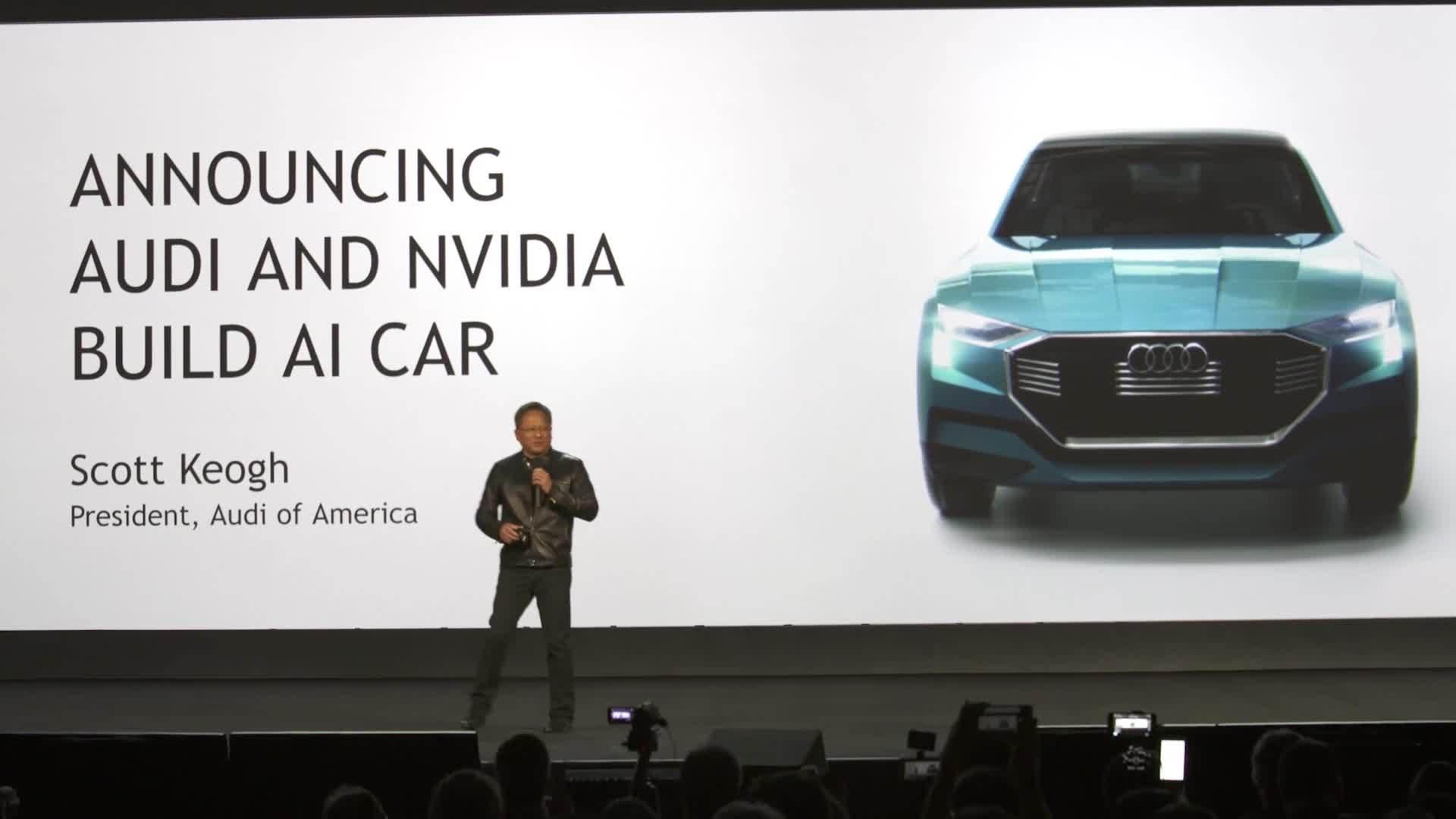 Audi NVIDIA CES 2017 DE