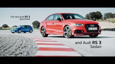 Driving pleasure and an even sharper look: The new Audi RS 3 Sportback