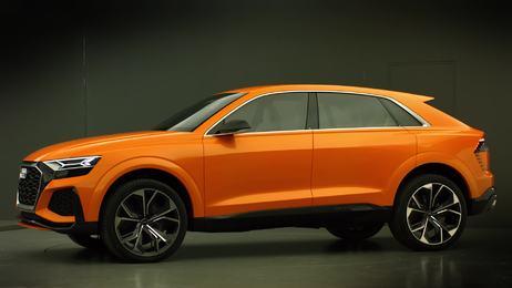 Der Audi Q8 sport concept