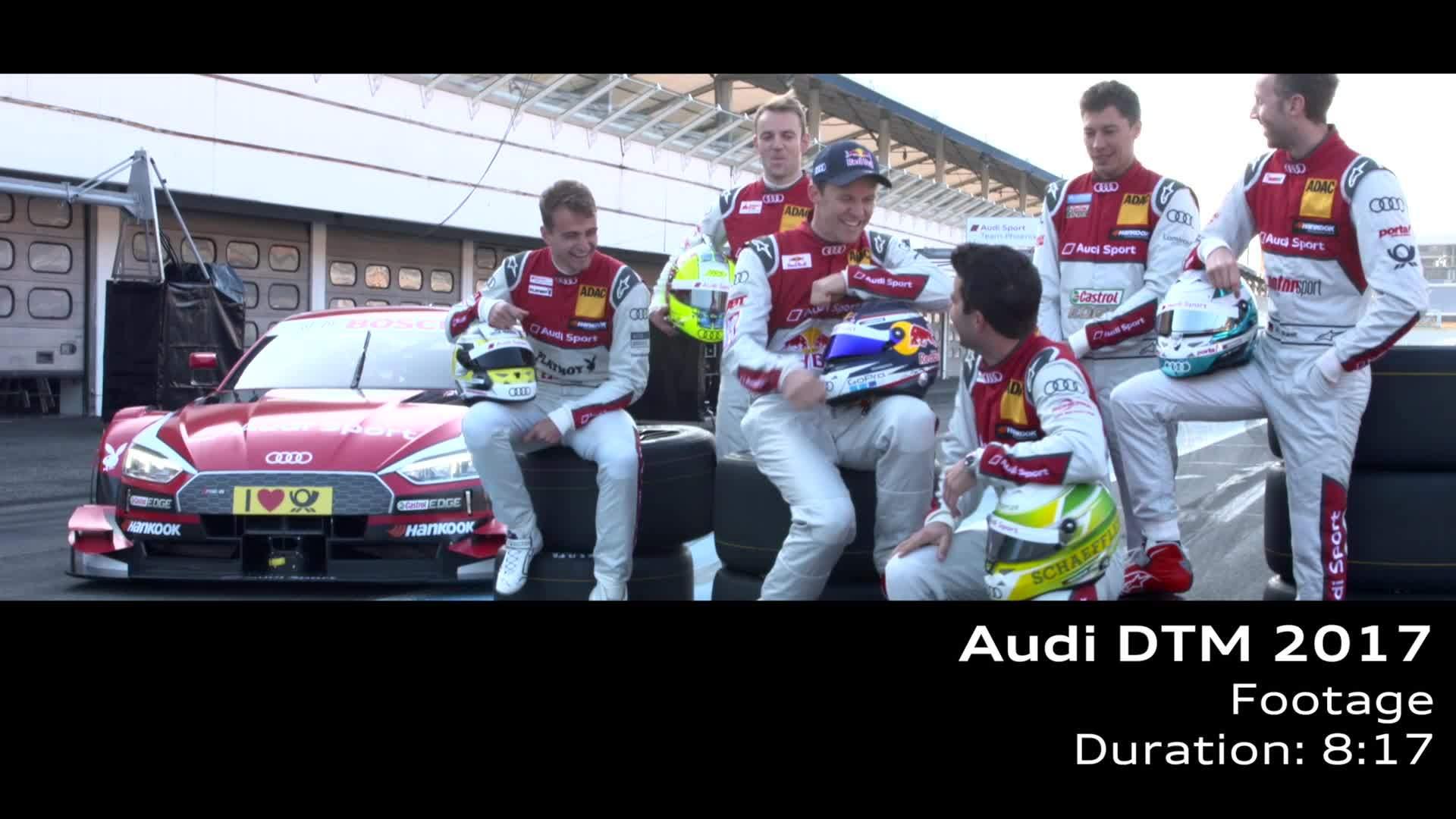 Audi DTM 2017 - Footage