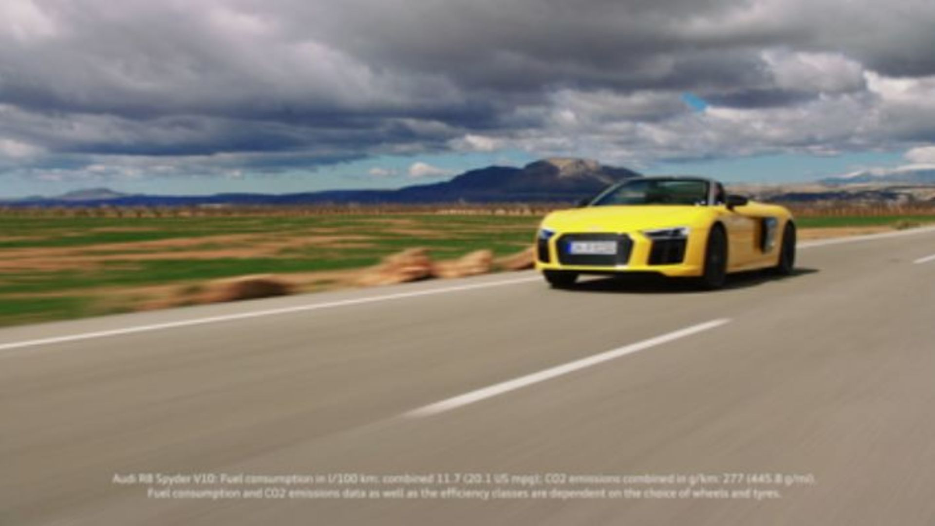 Audi R8 Spyder V10 - The allure of open-top driving