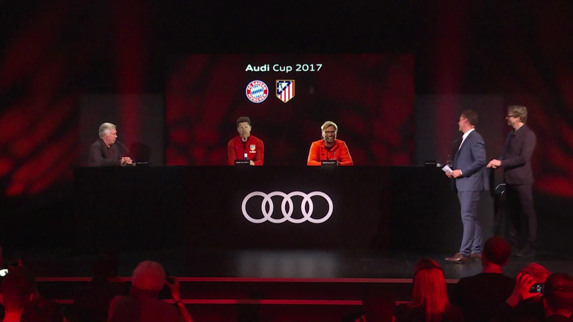 Audi Cup 2017 Pressekonferenz