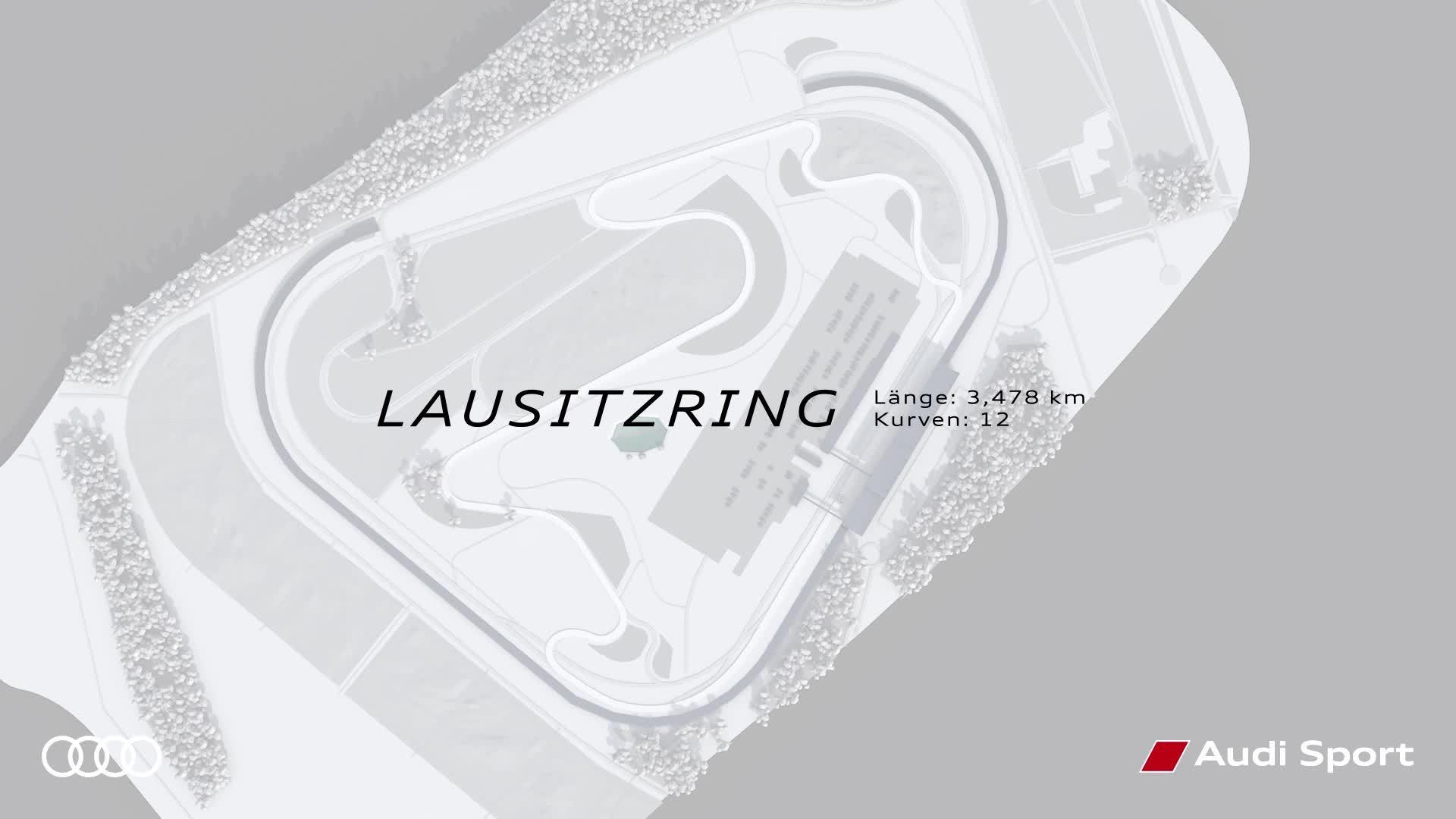 DTM Lausitzring – Infographik