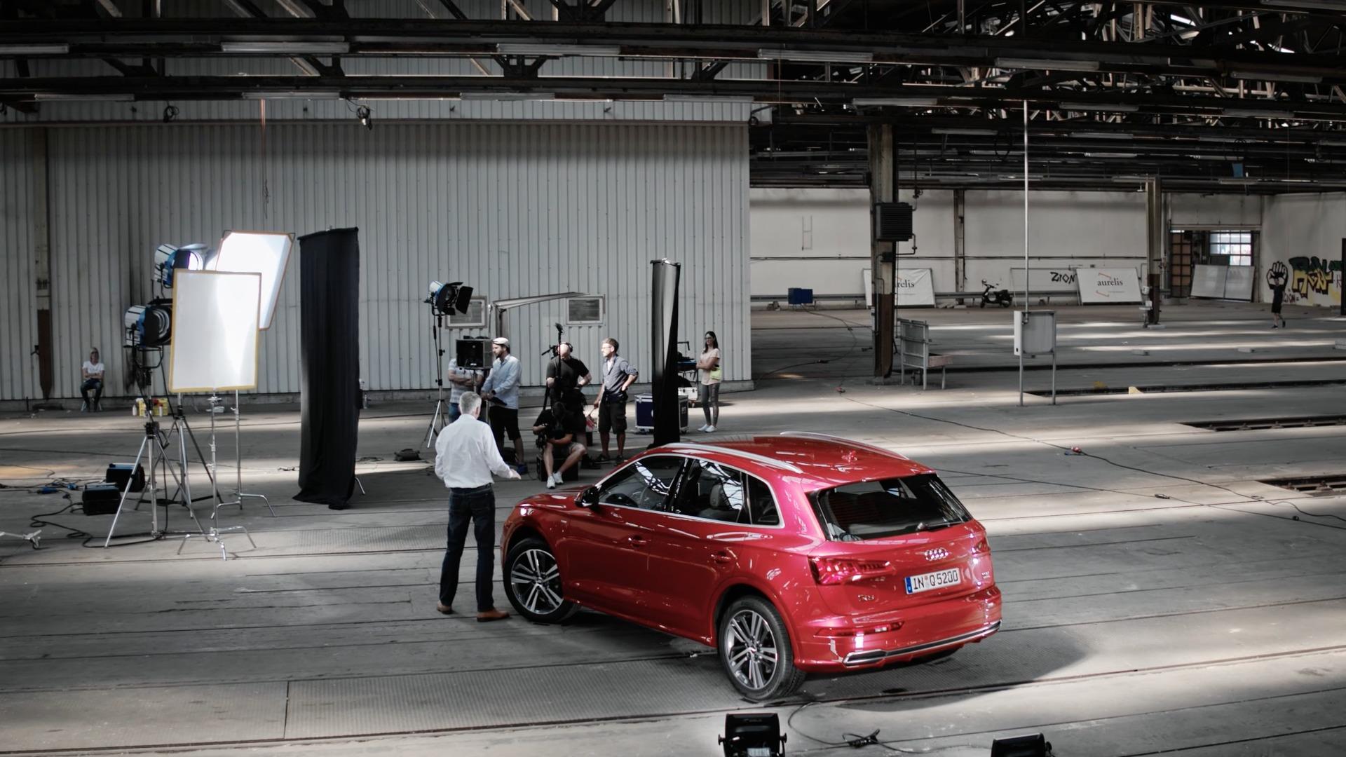World premiere - The new Audi Q5