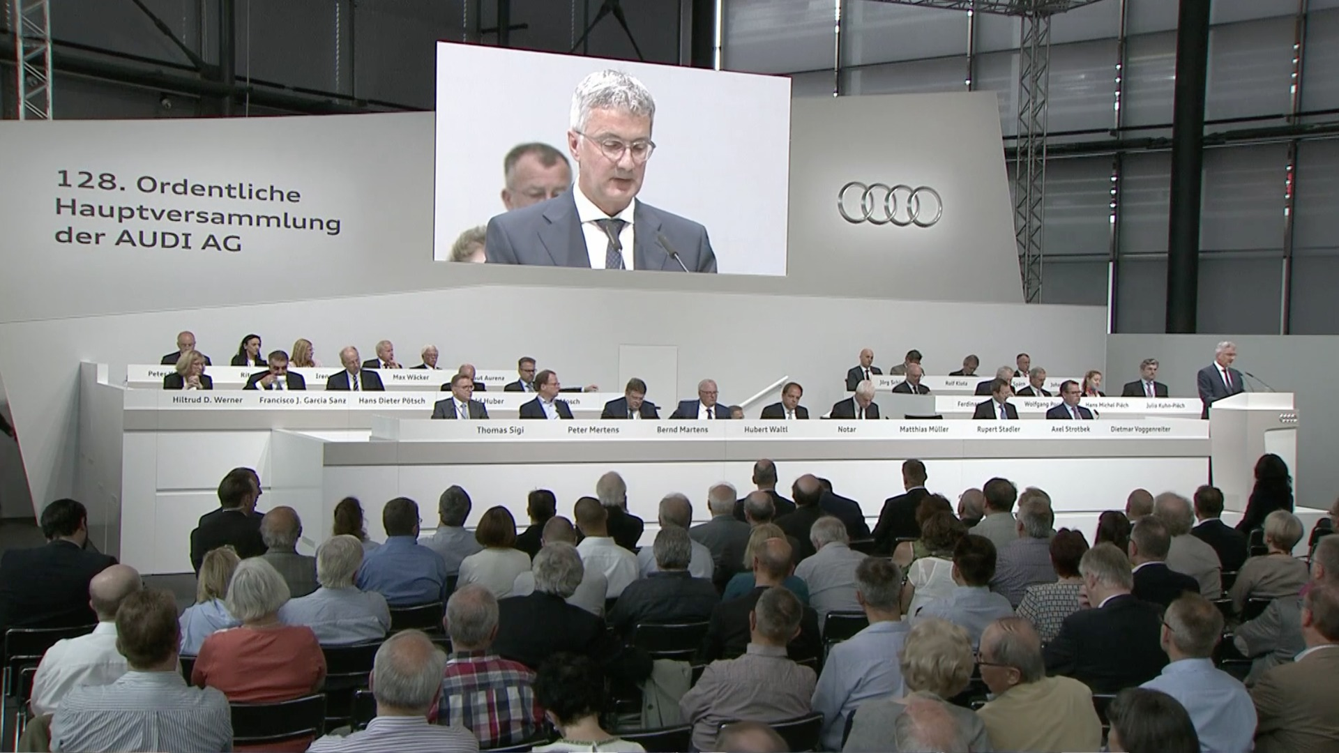 Annual General Meeting AUDI AG 2017 - The recording