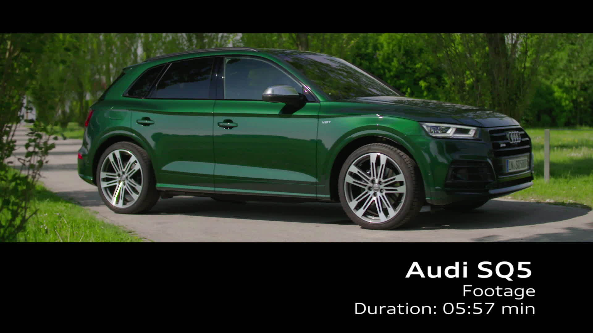 The Audi SQ5 - Footage TechDay