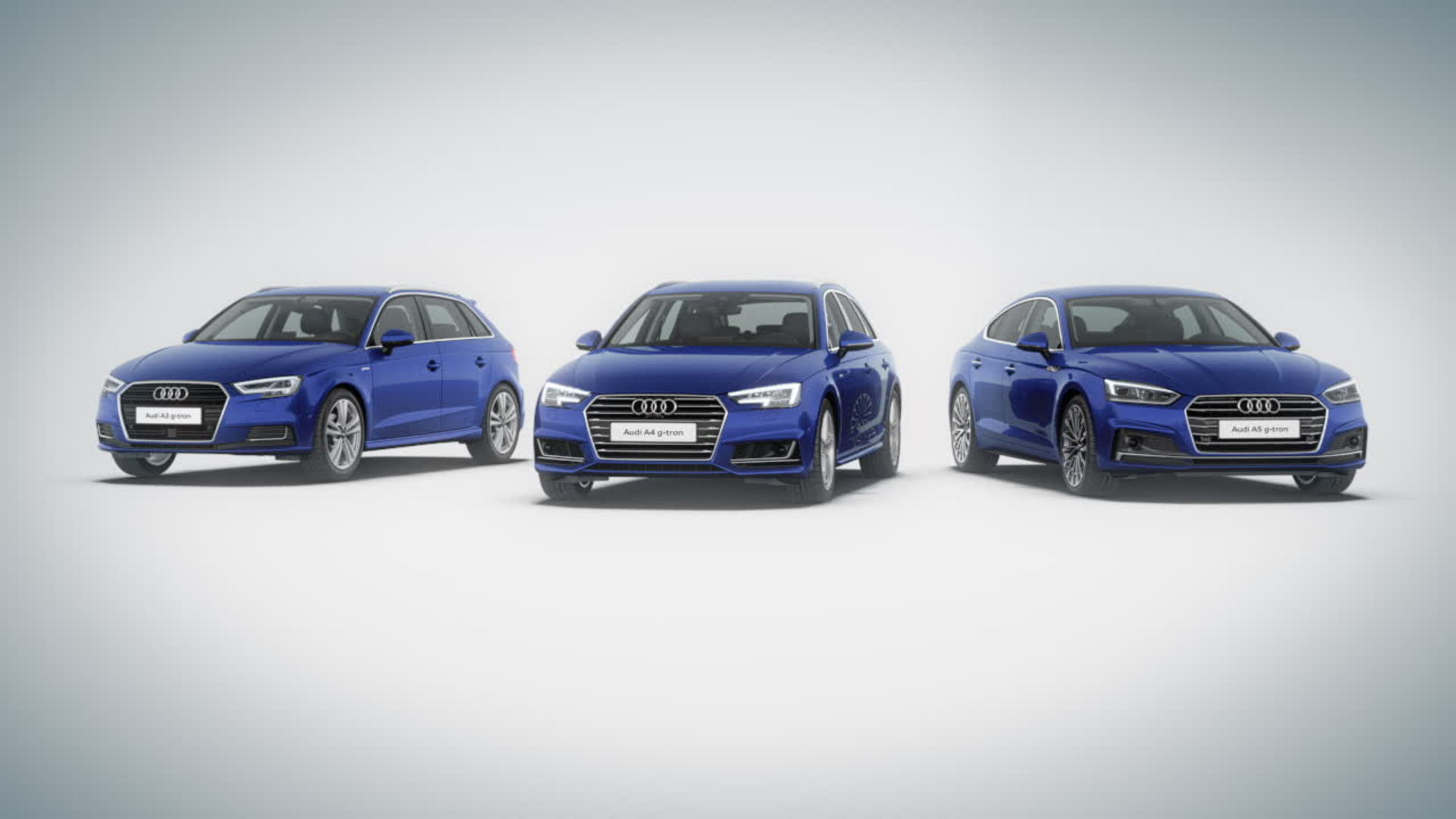 Audi g-tron long distance mobility Audi e-gas - Animation