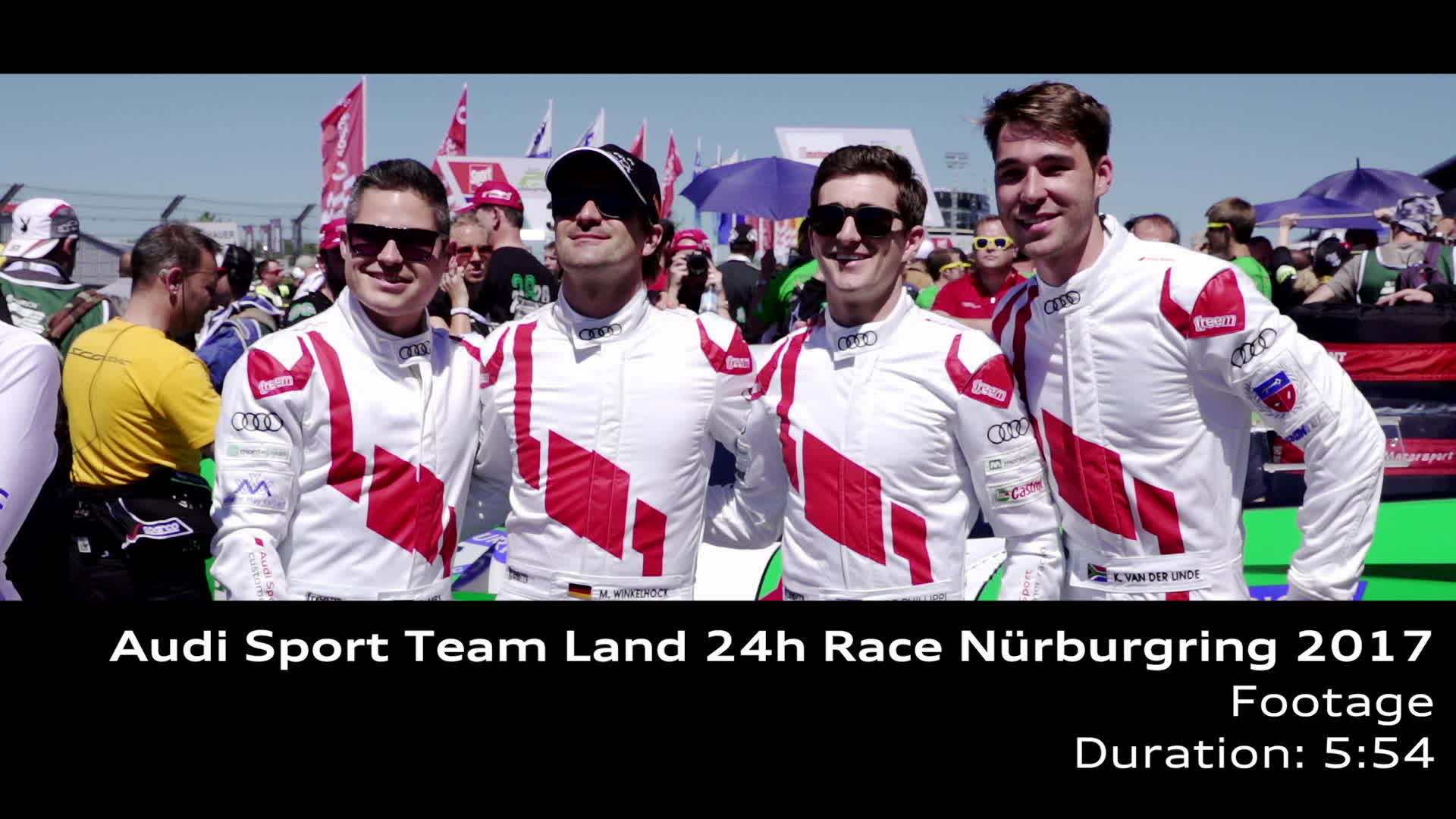 Audi Sport Team Land 2017 - Footage