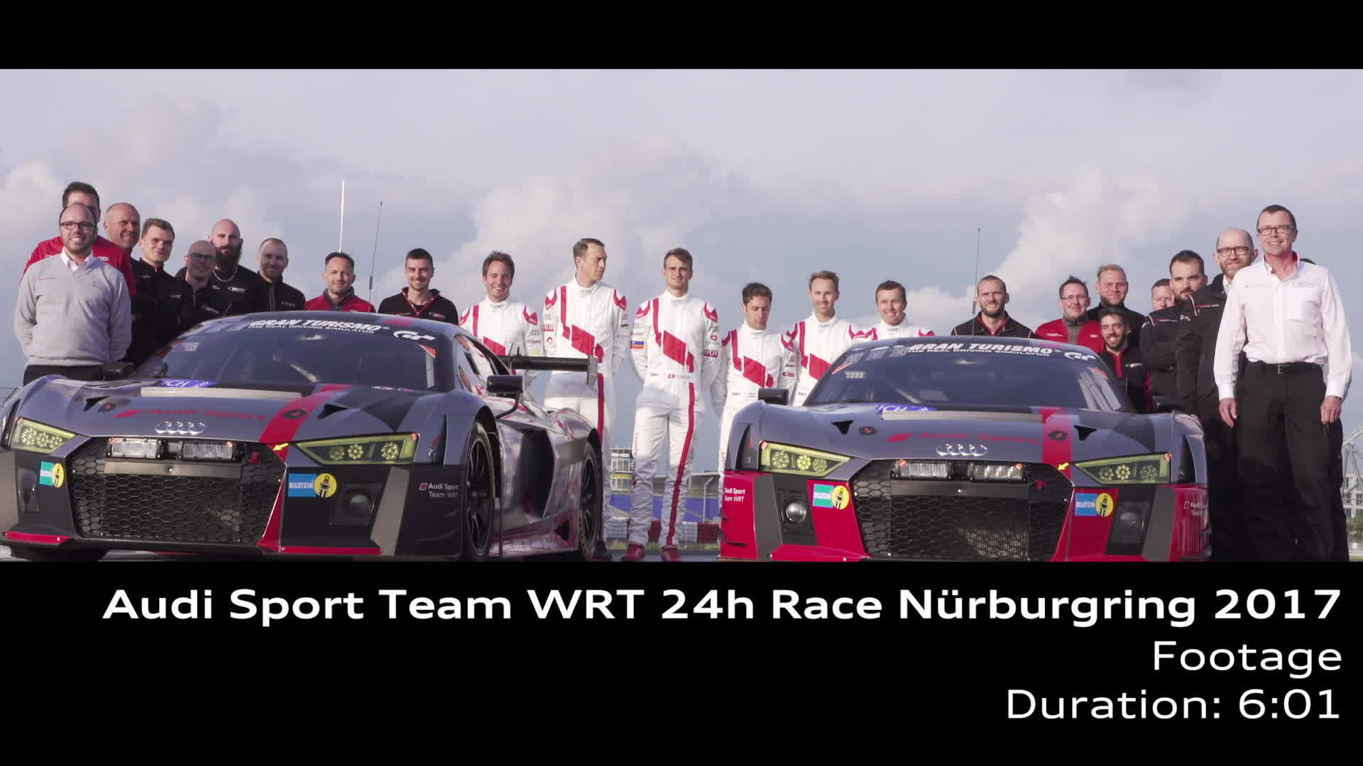Audi Sport Team WRT 2017 - Footage