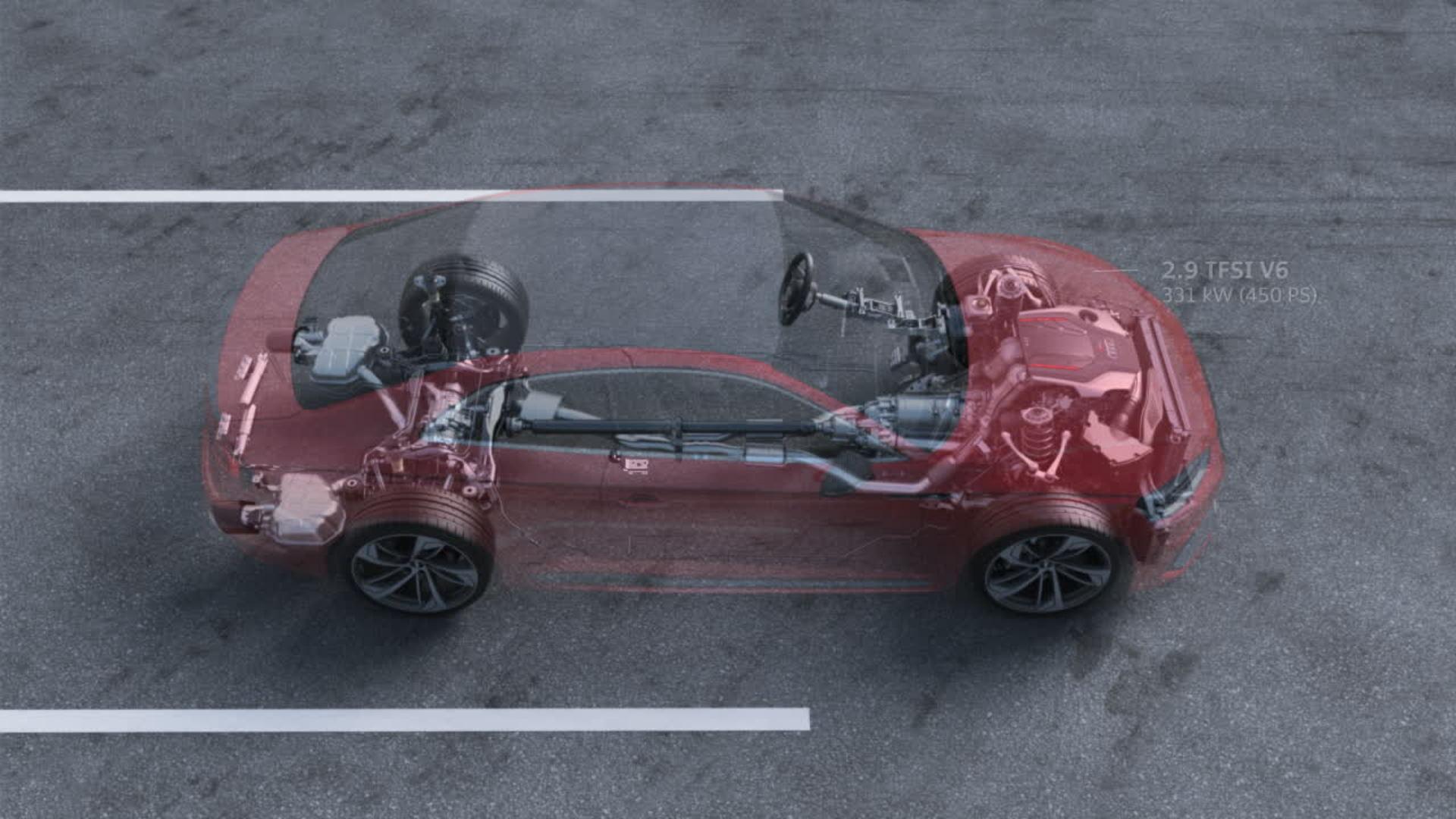 Animation Audi RS 5 Coupé