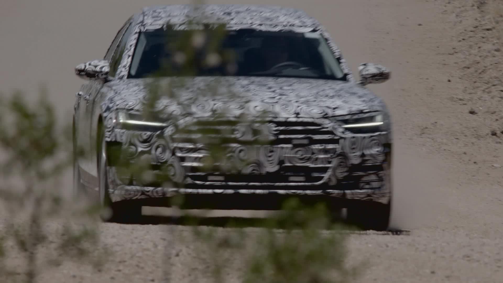Erlkönig: Neuer Audi A8 2017 im Test