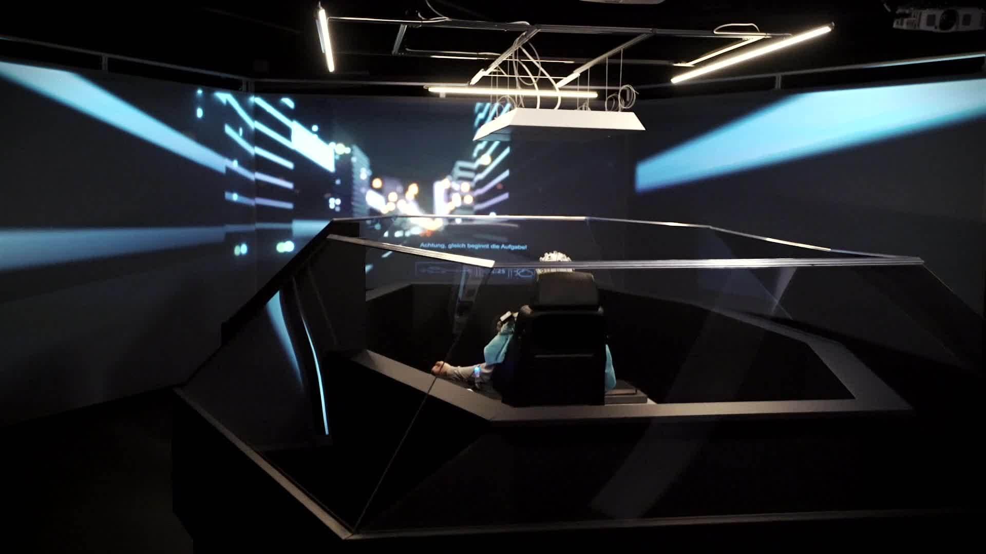 Audi erforscht Zeitnutzung im Roboterauto