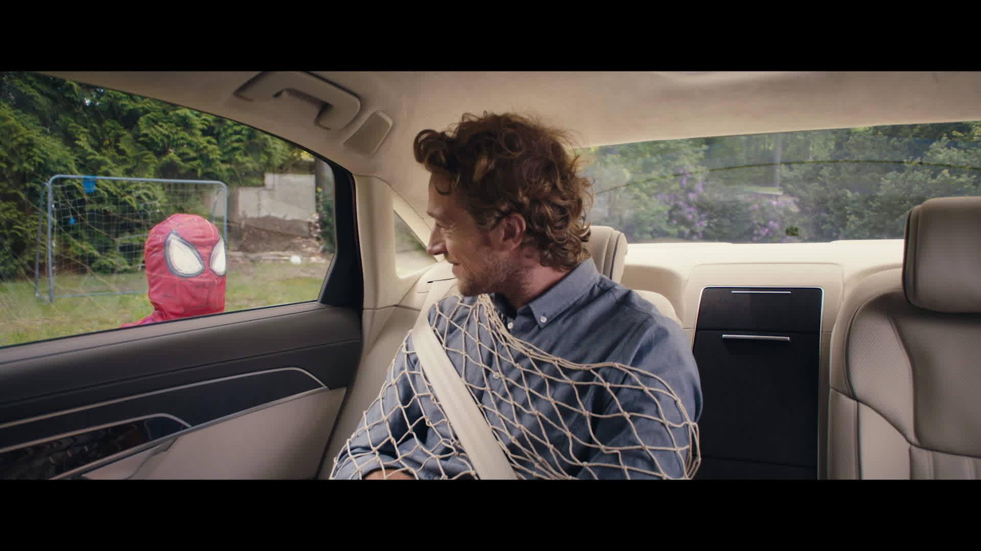 Die Spiderman Challenge – der neue Audi A8
