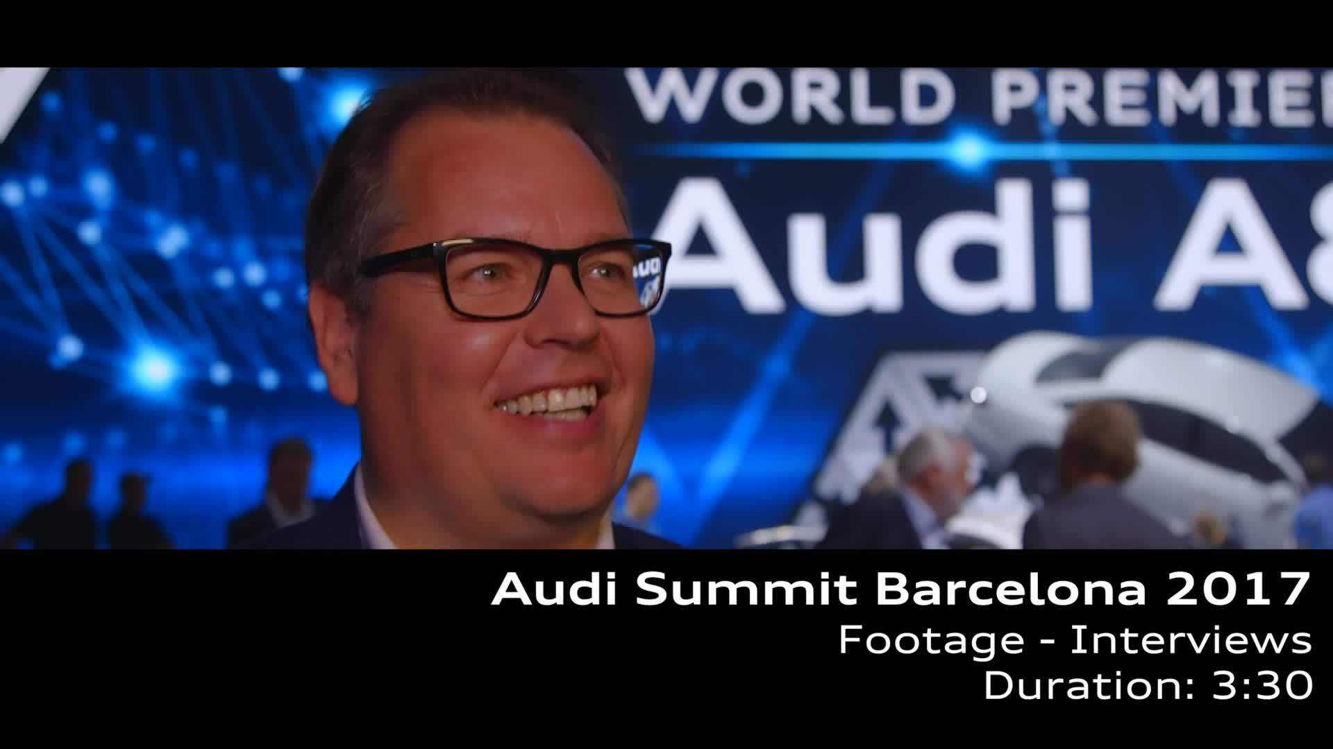 Audi Summit Interviews