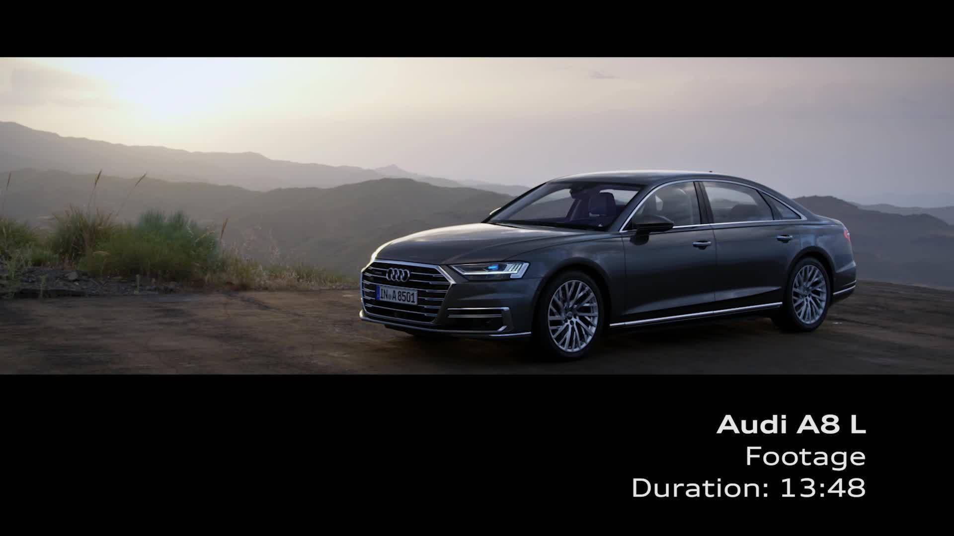 Audi A8 L Footage