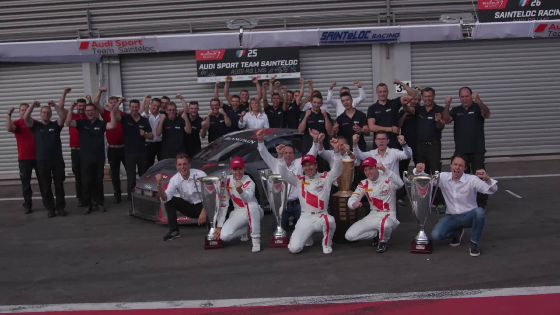 Footage: 24 Hours of Spa