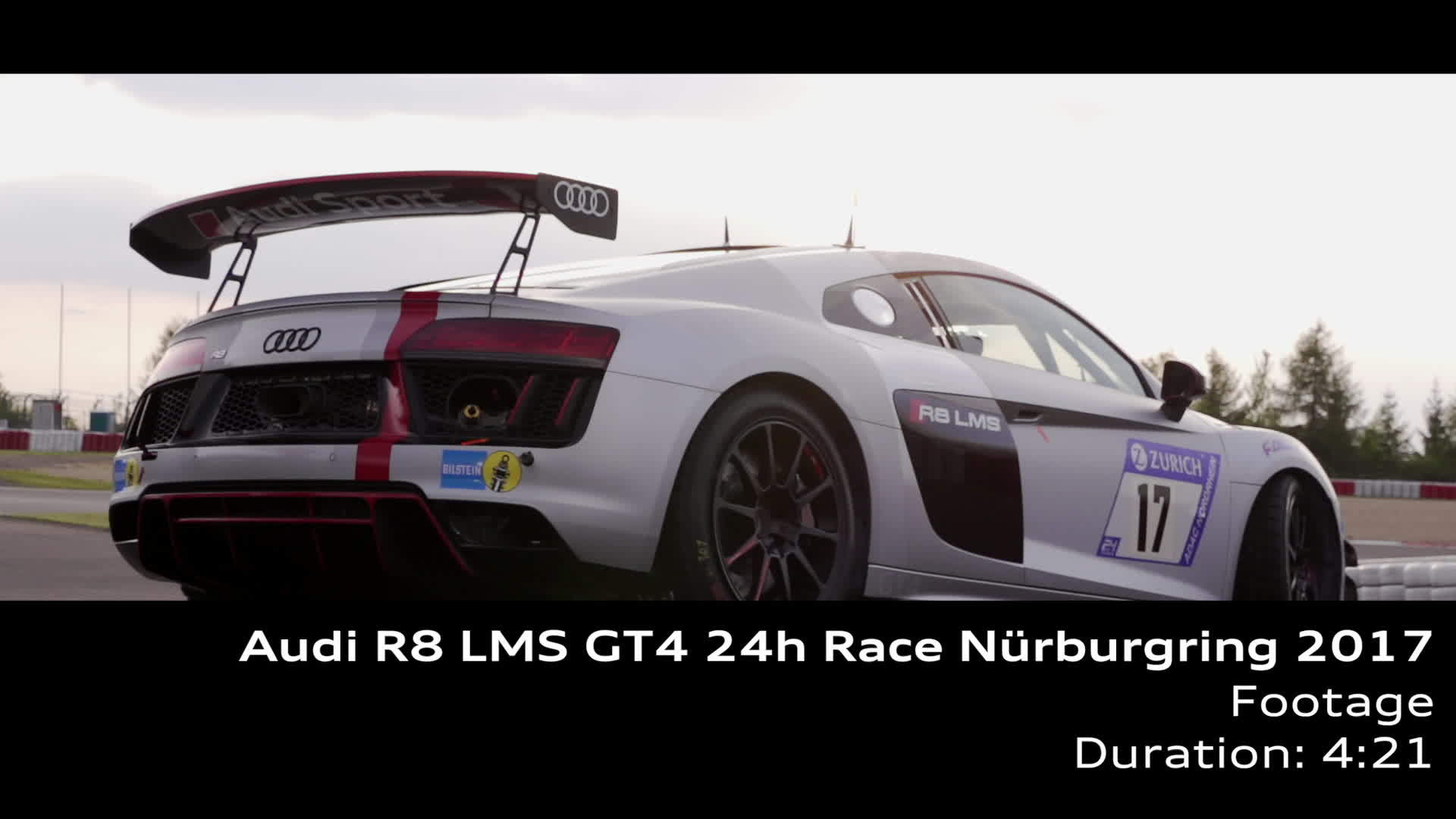 Audi R8 LMS GT4 - Footage