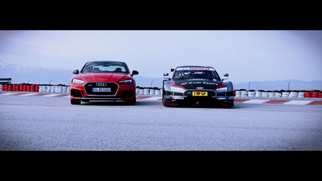 Born on the track, built for the road - Audi RS 5 und RS 5 DTM
