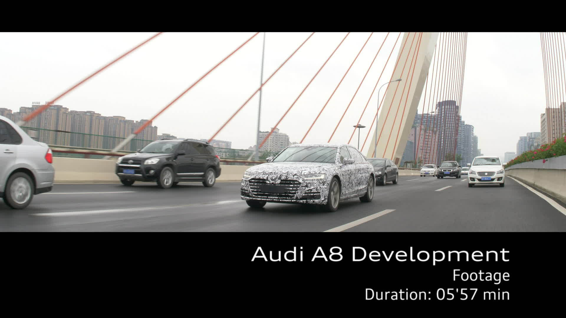 Audi A8 – Footage Development