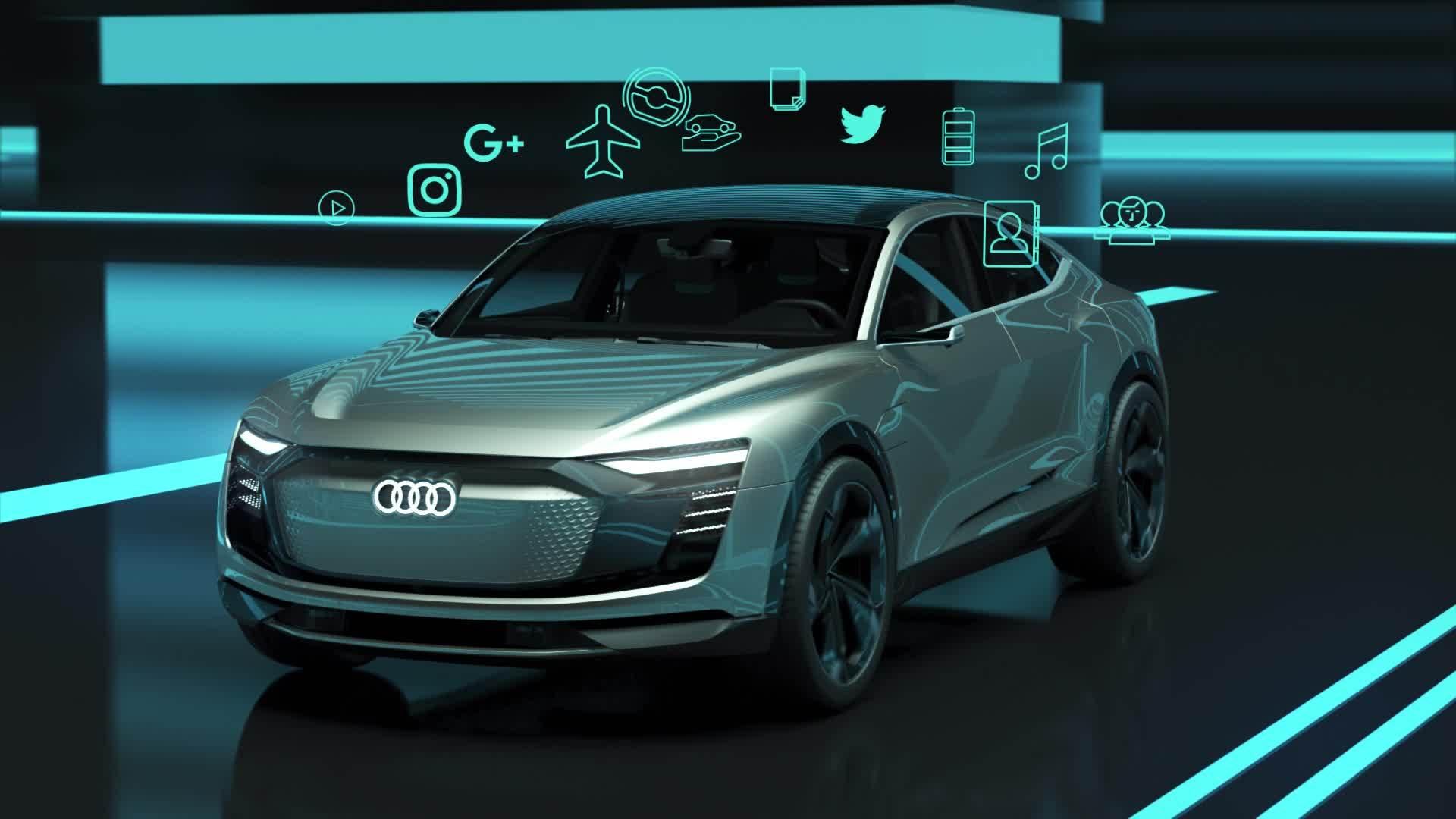 Animation Audi AI