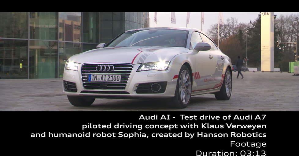 Audi AI Test Drive Jack And Sophia Footage Video Audi MediaTV - Audi test drive