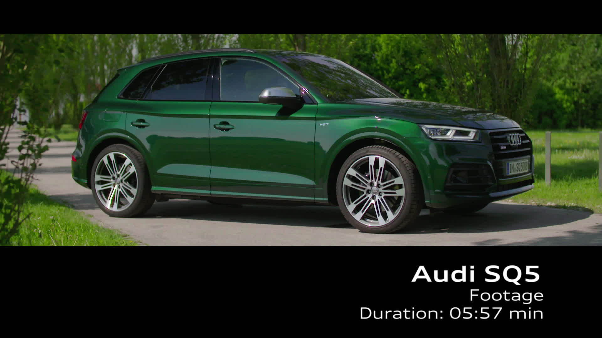 Audi SQ5 - Footage TechDay