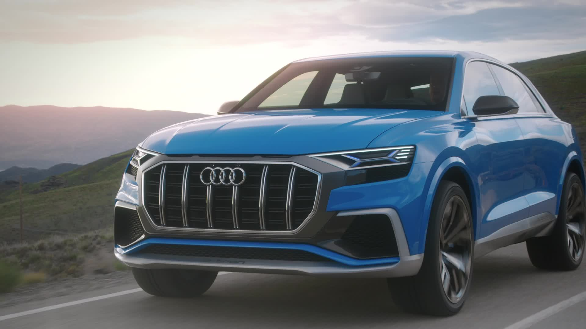 The new Audi Q8 concept