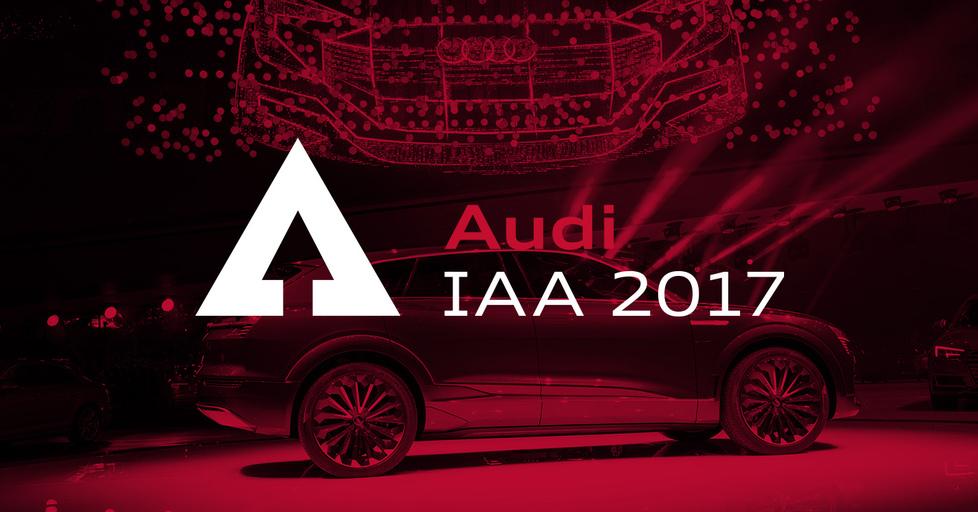 LIVE: Audi auf der IAA 2017