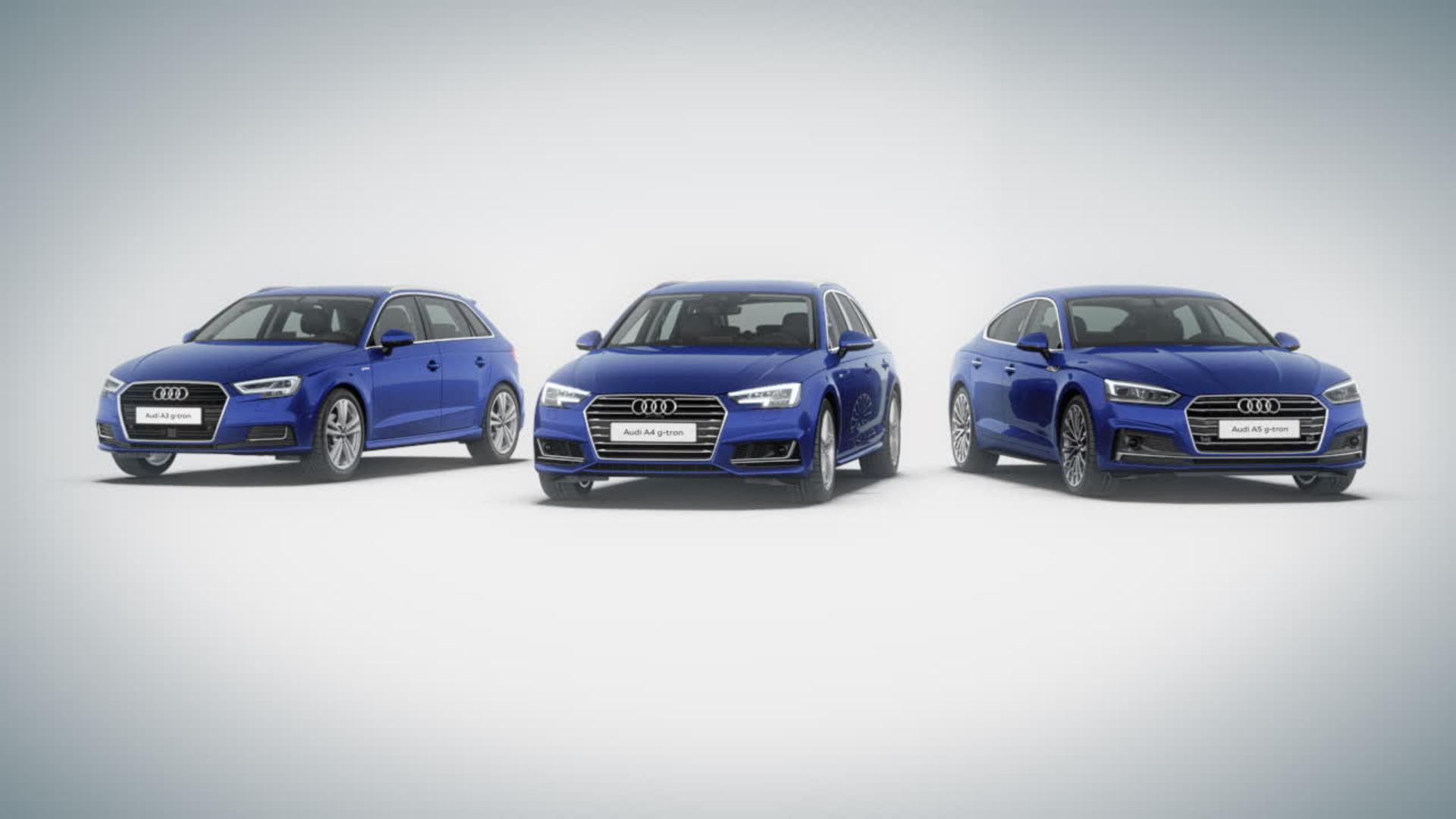 Audi g-tron Langstreckenmobilität - Animation