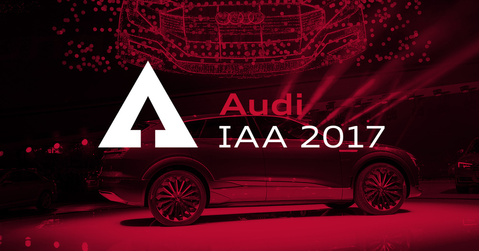 Audi at the IAA 2017
