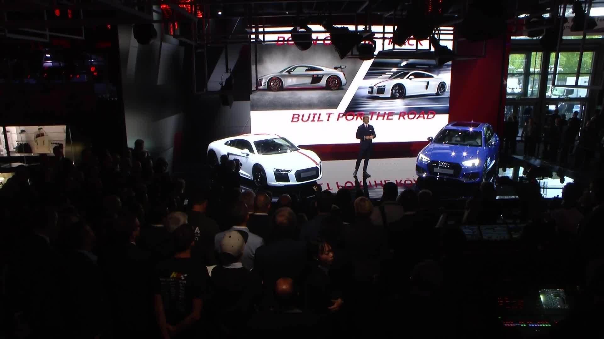 Highlights Audi Sport auf der IAA 2017
