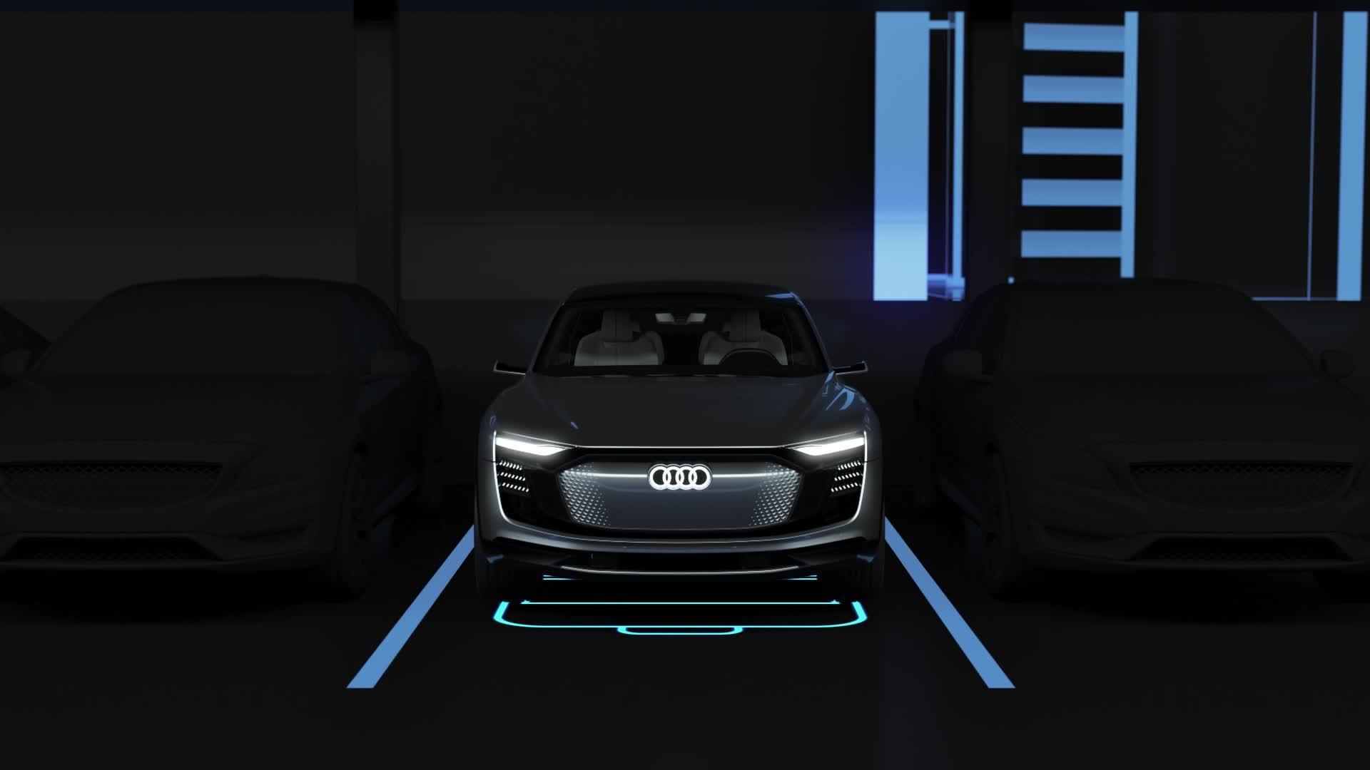Animation Audi AI Zone