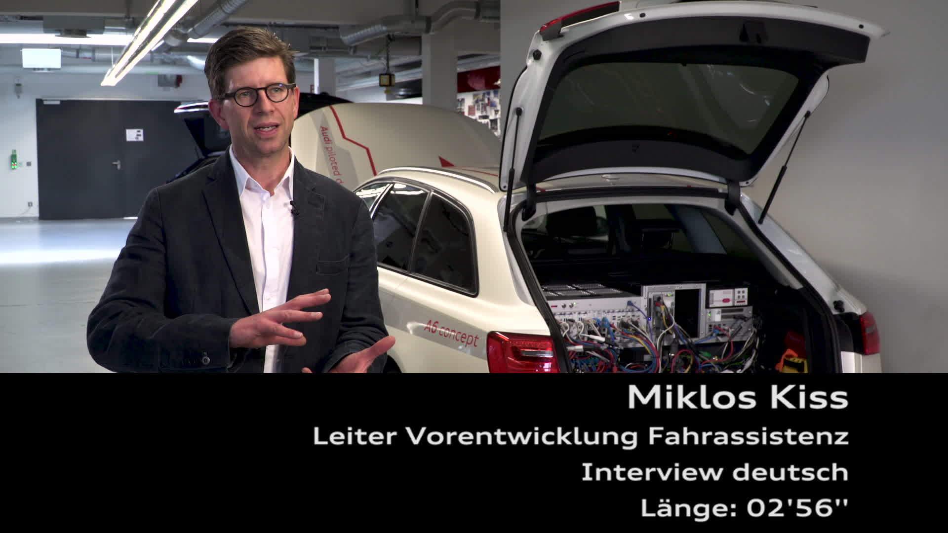 Experteninterview mit Miklos Kiss zum Thema pilotiertes Fahren