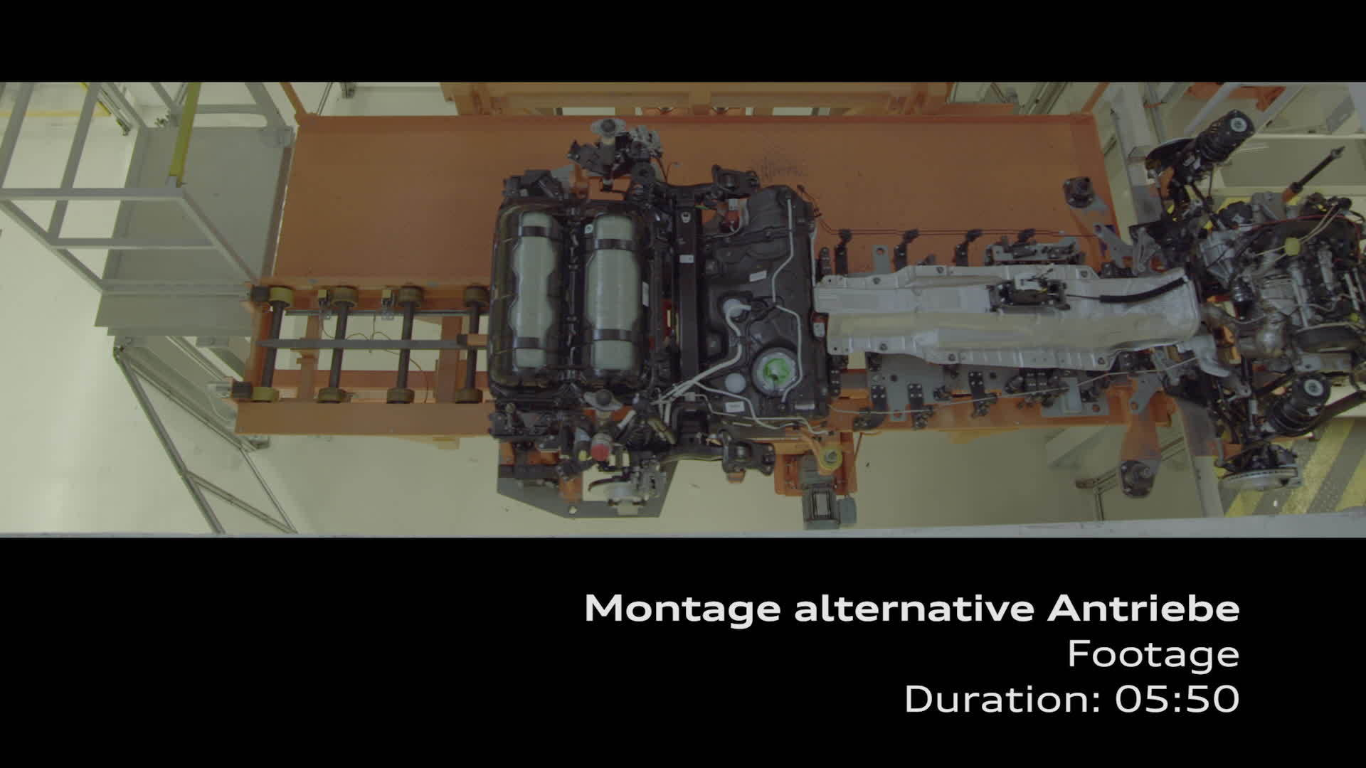 Footage assembly alternative drive systems