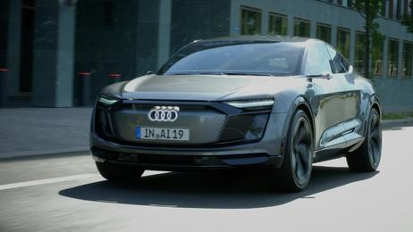 Audi Elaine concept car – highly automated at level 4