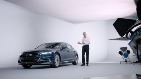 Exklusive Präsentation des neuen Audi A8
