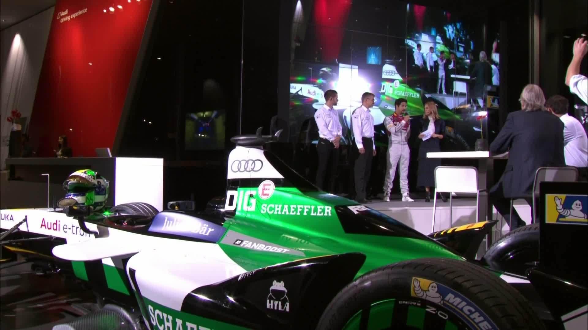 Audi Formel E Team Präsentation