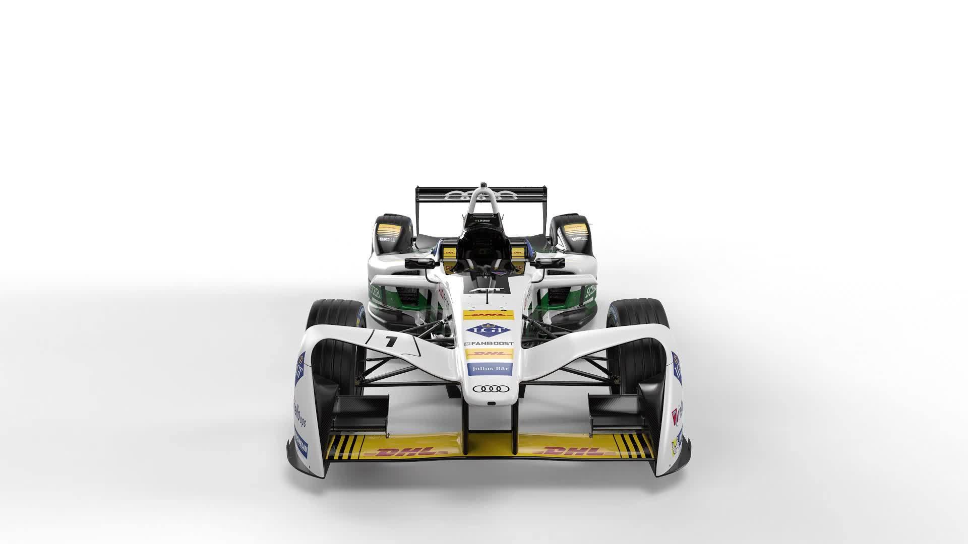 Der Audi e-tron FE04 für die Formel E