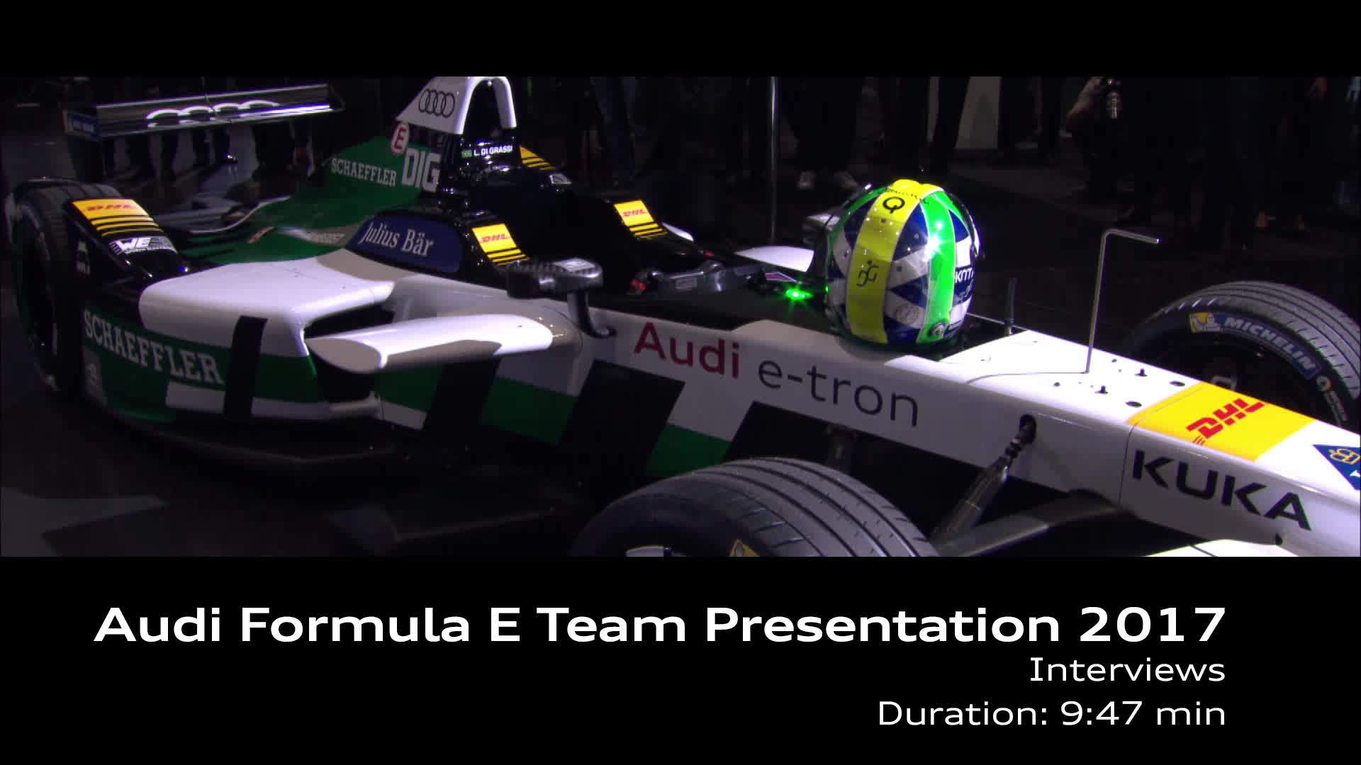 Audi Formula E Presentation 2017 Interviews