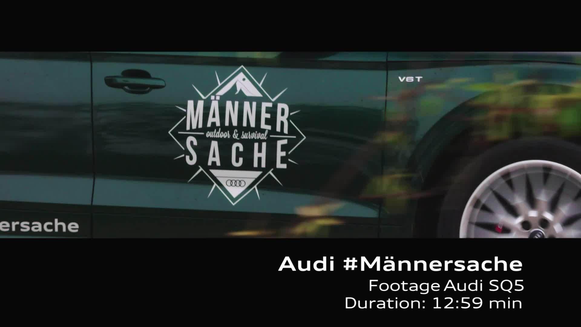 Footage - Audi SQ5 #Männersache