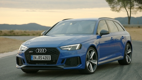 Audi RS 4 Avant: Return of the RS icon