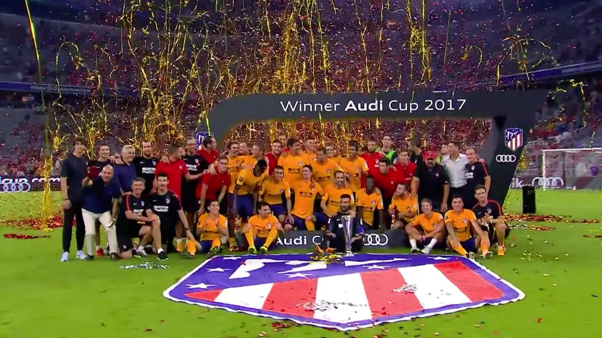 Audi Cup Highlights 2017