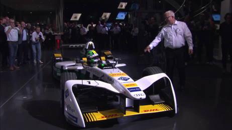Audi fährt elektrisch in die Motorsport-Zukunft