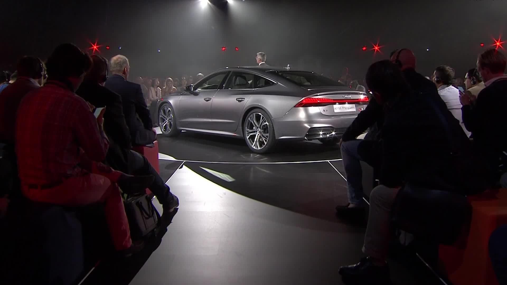 Highlights der Audi A7 Sportback Weltpremiere
