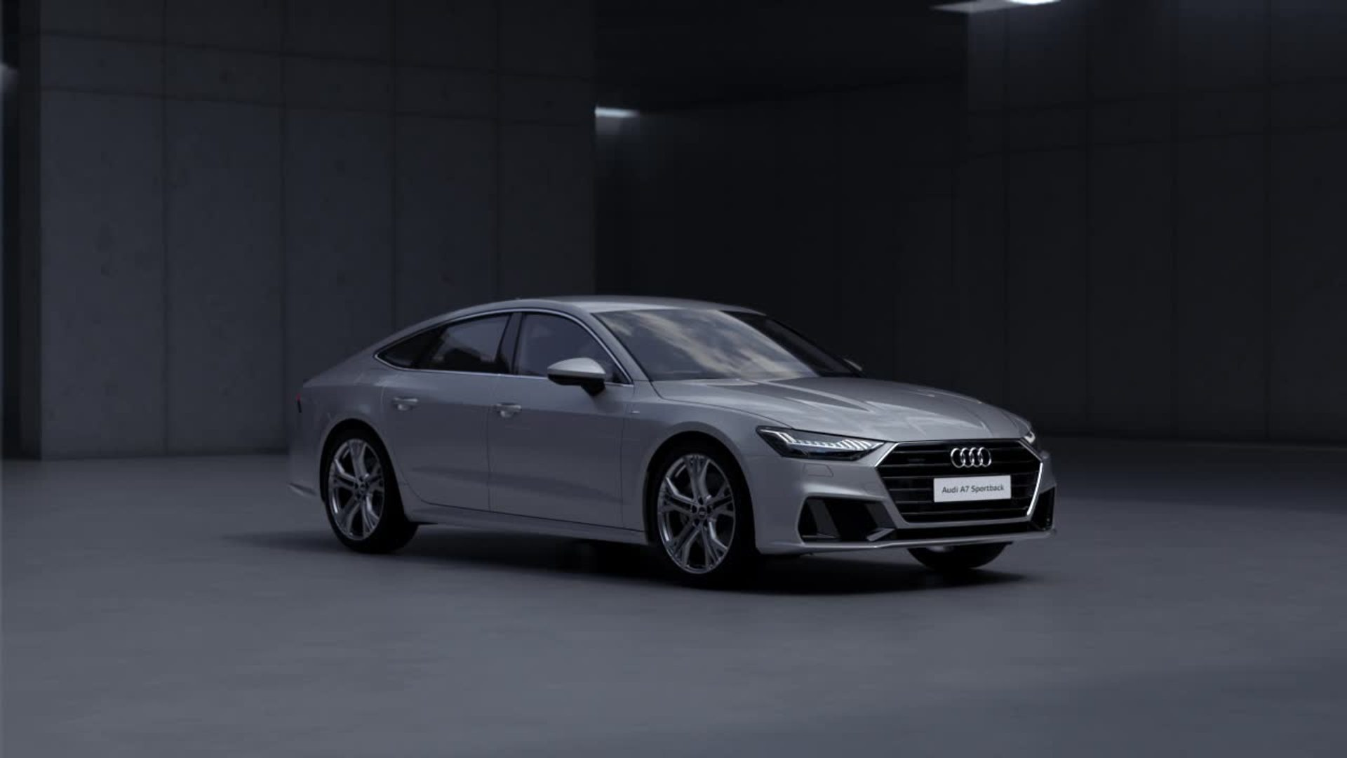 Animation Audi A7 exterior design