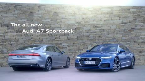 Der neue Audi A7 Sportback: Sportliches Gesicht von Audi in der Oberklasse